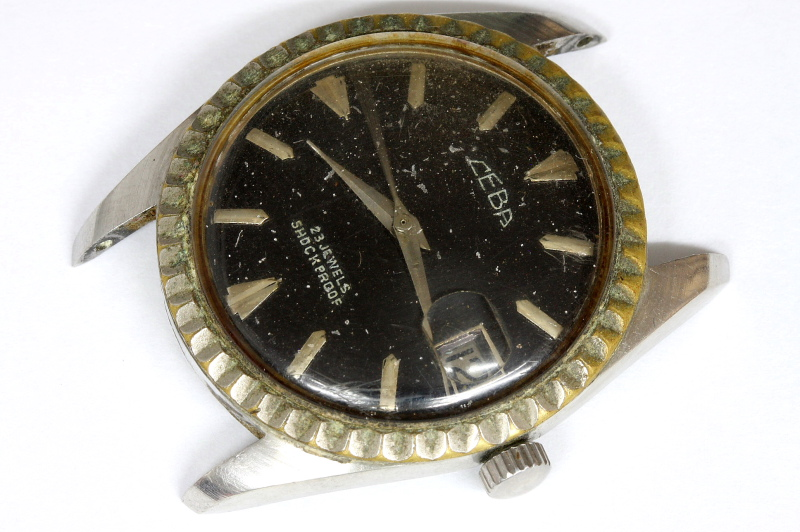 Ceba 23 jewels manual wind Swiss watch for parts/restore - 11498